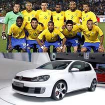 2010年的南非世界杯,巴西人希望在卡卡的带领下再次拿下大力神杯,巴西队是技术型打法的代表,队员个人技术好,单兵作战能力强。高尔夫GTI灵活的驾驶,以及灵敏的加速、细腻的做工与巴西足球有着异曲同工之妙。