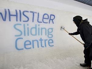 惠斯勒滑雪中心<br>比赛项目:有舵雪车、无舵雪车、雪橇