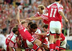 <br><font color=1F4558>1992年丹麦夺冠</font>