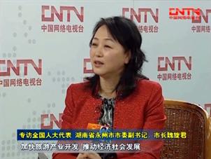 [视频]专访湖南省永州市市委副书记、市长魏旋君