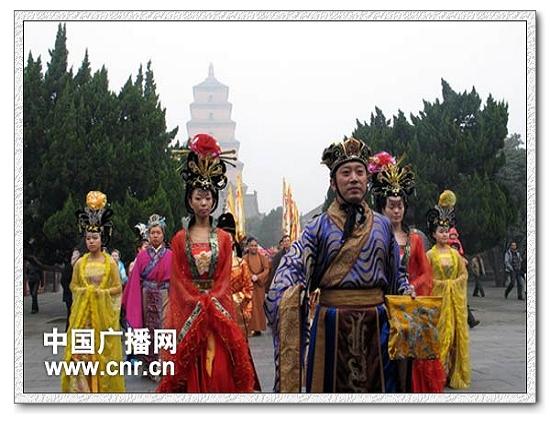 西安 2012雁塔祈福·钟鸣五洲