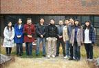 韩舒茵和来自广东新疆的朋友在韩国拜年