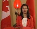 加拿大中国国际总商会会长梁杏娟祝福祖国