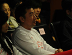 奥运冠军杨凌在场下