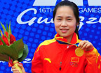 <font color=red>第7金:</font>王成意获得亚运会射击女子50米卧射金牌