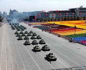 99式坦克方队