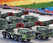 远程火箭炮方队