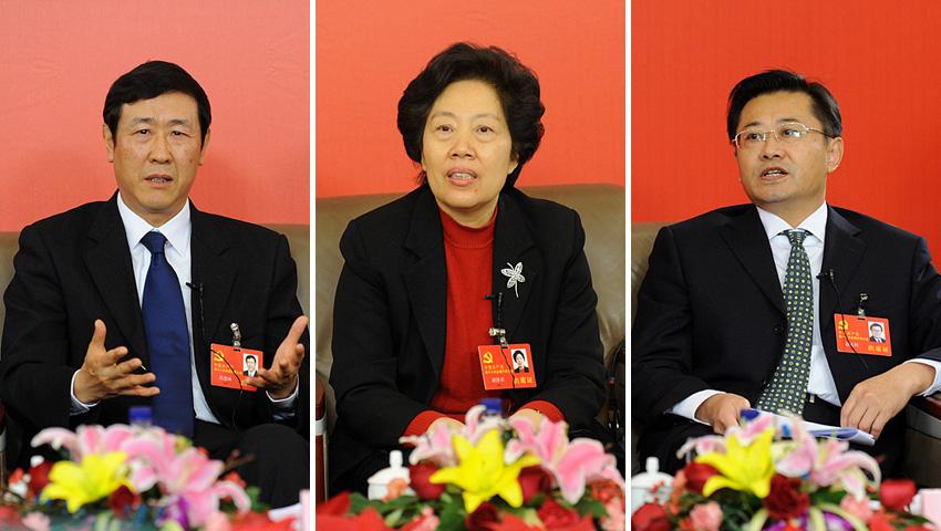 """十八大新闻中心举行""""中国的司法公正""""网络访谈"""