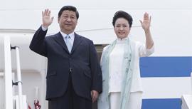 习近平出访四国并出席金砖国家峰会