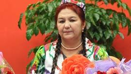 喀什市托尔亚瓦格社区党总支书记 吾尼切木·瓦依提