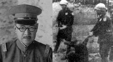 谷寿夫被枪毙