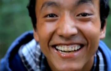 无畏的藏族少年