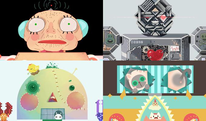 机器人的涂鸦游戏