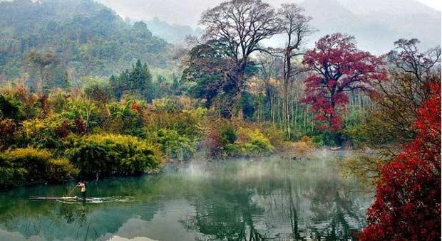 《畅游中国》领略中国的名山大川
