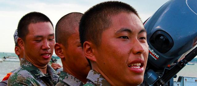 海训场上,那些最可爱的军人面孔