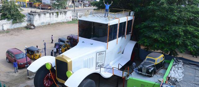 印度设计巨型汽车 欲打破世界纪录