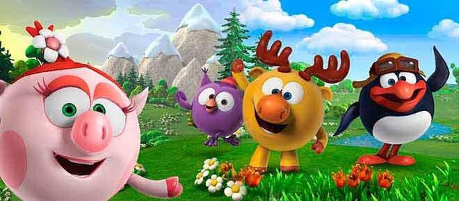 3d新版《开心球》圆滚滚的小动物萌萌哒