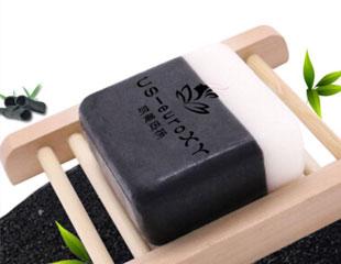 山羊奶竹炭手工皂