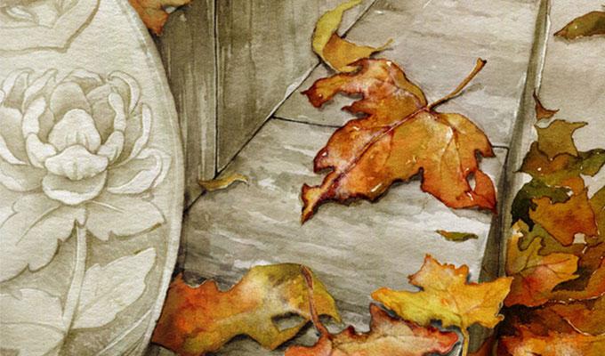 关于霜降的诗词-半夜秋风阵阵凉,一场白露一场霜