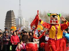 【新春征集】古长安城的民俗年