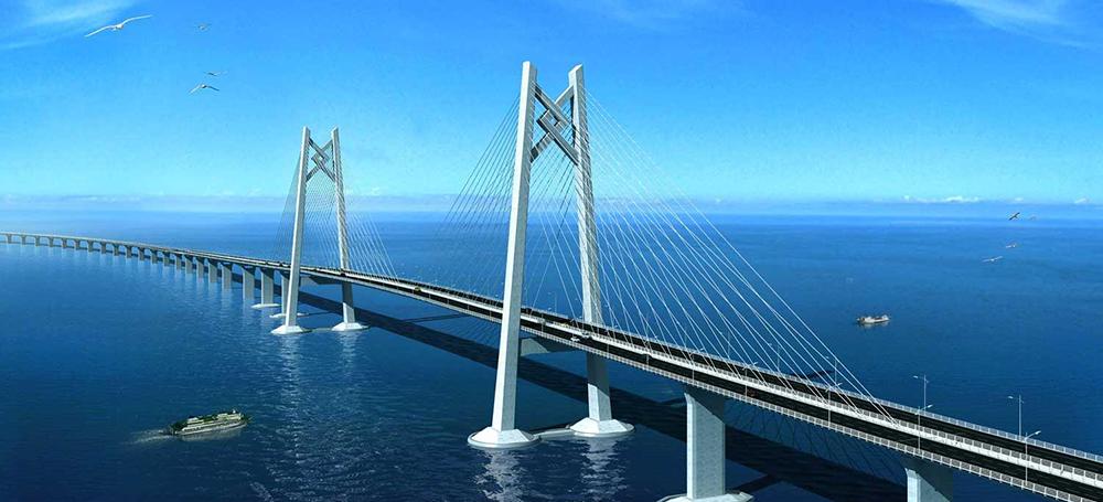 珠港澳大桥全景