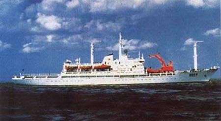 中国第一支南极考察队出发
