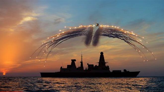 """英国""""钻石""""号回家 6艘同型舰全趴窝"""
