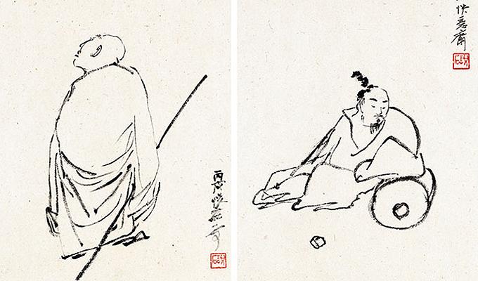 【央视画廊】吴悦石国画作品欣赏