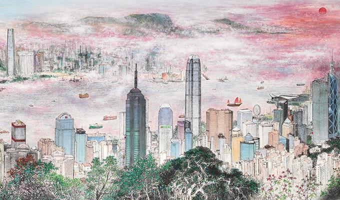 庆祝香港回归祖国20周年全国中国画作品展在京开幕