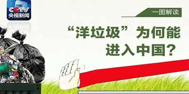 """中国正式通知WTO:不再接收""""洋垃圾"""""""