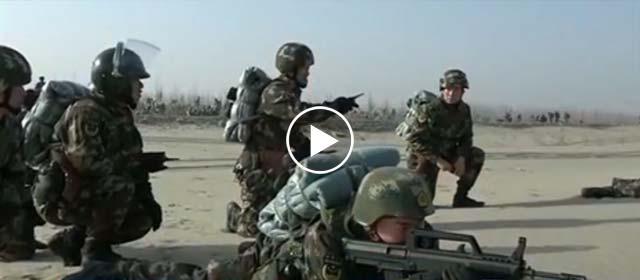 新年开训:全军部队紧贴实战练精兵