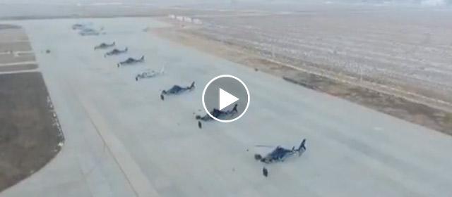 海军飞行学员多机型跨昼夜实战训练