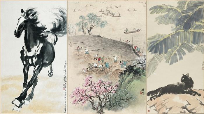 中国美术馆三展齐开迎新年