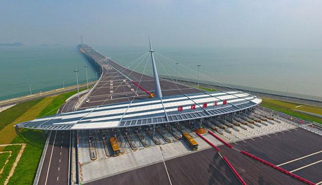 一桥飞架三地 大湾区加速起航