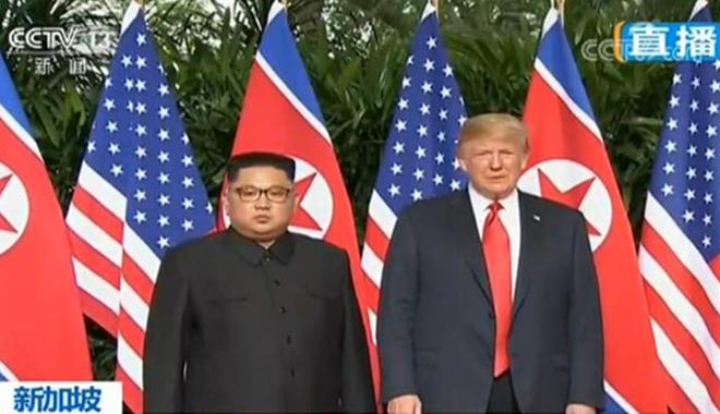 新加坡 朝美领导人今天举…