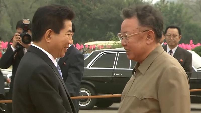"""90秒盘点历任韩国总统""""平壤时间"""""""