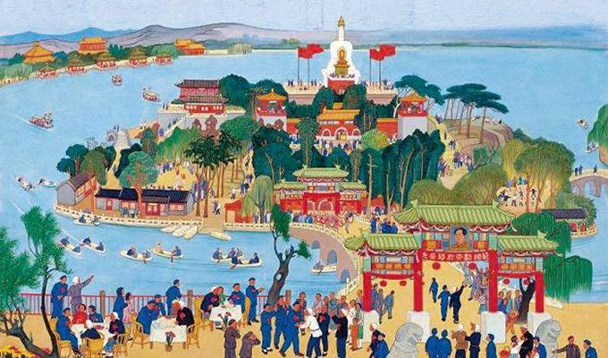 """劳动与建设,新中国初期""""新国画""""里的最强音"""