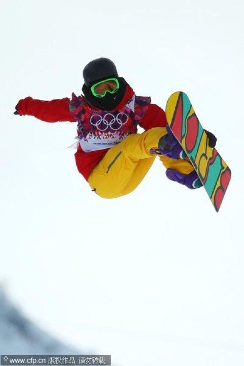[高清组图]单板滑雪女子U型池 孙志峰李爽晋级半决赛