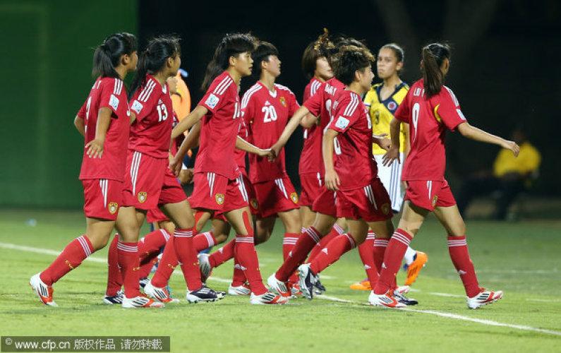 U17女足世界杯-中国2分钟闪击 3-1逆转哥伦比