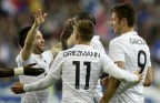 [高清组图]热身赛-吉鲁梅开二度 法国4-0大胜挪威