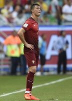 [高清组图]葡萄牙惨败德国 C罗神情落寞