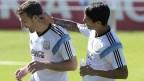 [高清组图]阿根廷队备战淘汰赛 梅西缺席