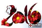 """金猴献瑞迎新年 遍赏各地""""猴元素""""艺术"""
