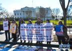 白宫前举行防止枪支暴力集会