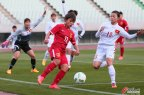 [高清组图]奥预赛-古雅沙张睿破门 女足2-0越南