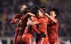 [高清组图]奥预赛-古雅沙世界波 女足2-1日本出线在望