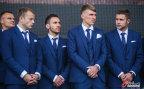 [高清组图]乌克兰队集结 举行欧洲杯出征仪式