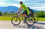 [高清组图]德国备战欧洲杯 勒夫带队员骑自行车