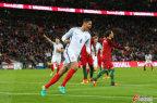 [高清组图]热身赛-曼联铁卫绝杀 英格兰胜葡萄牙