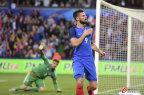 [高清组图]吉鲁2球阿森纳铁卫破门 法国3-0完胜